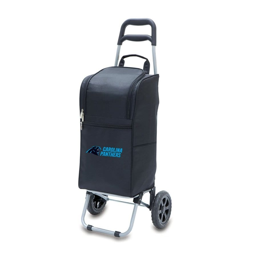 Picnic Time 15-Quart Carolina Panthers Wheeled Polyester Cart Cooler