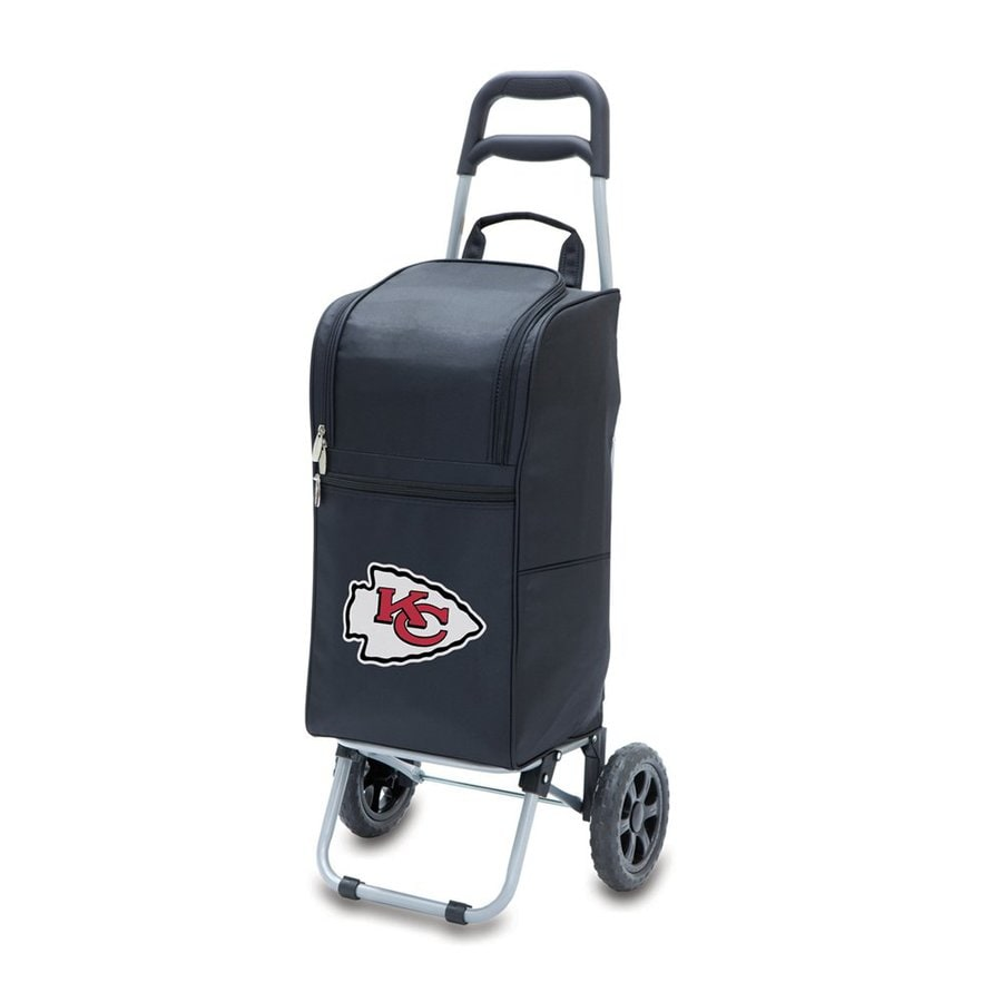Picnic Time 15-Quart Kansas City Chiefs Wheeled Polyester Cart Cooler