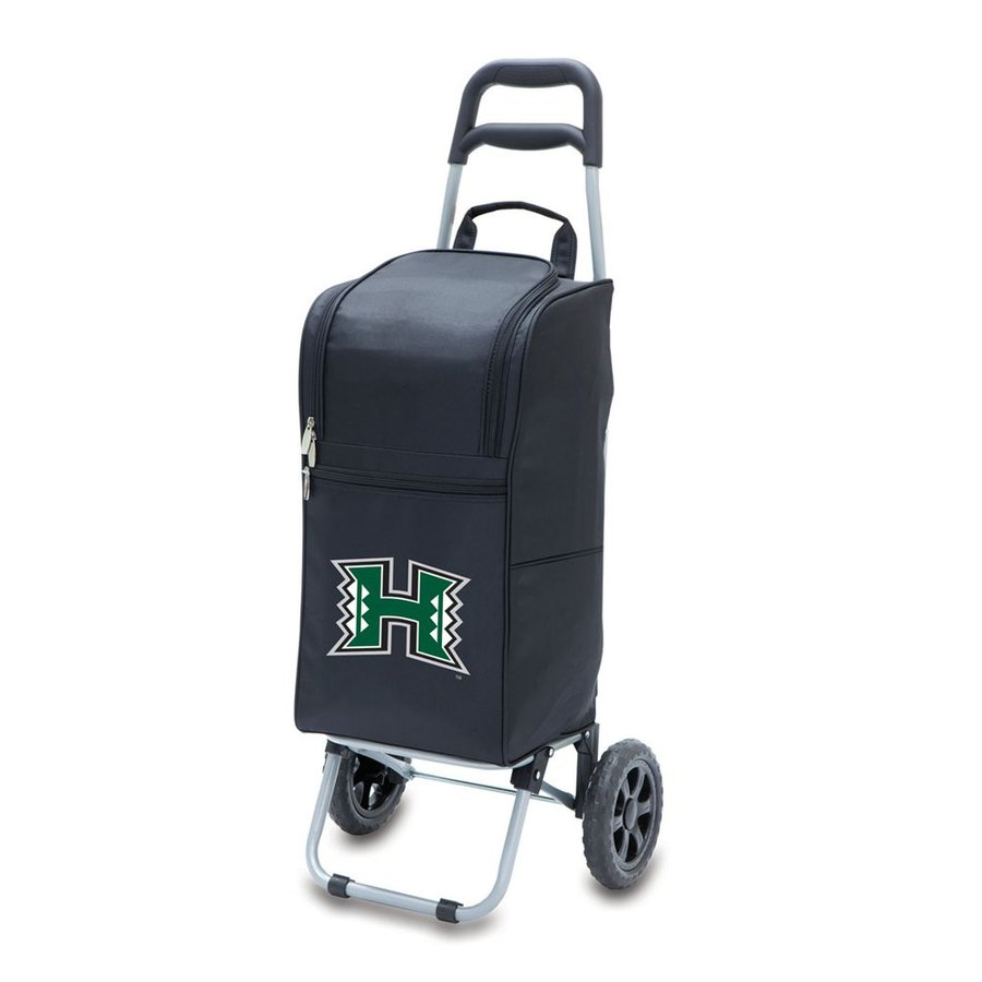 Picnic Time 15-qt Hawaii Warriors Wheeled Polyester Cart Cooler