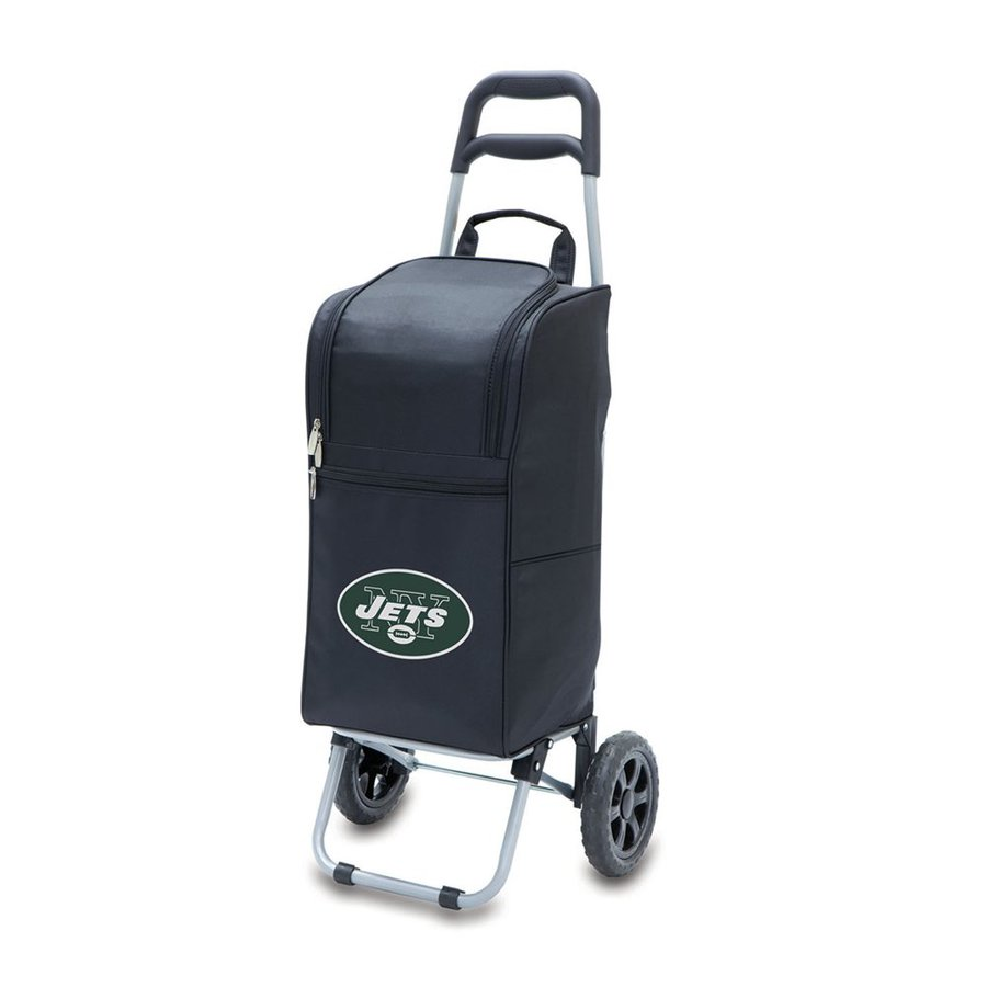 Picnic Time 15-Quart New York Jets Wheeled Polyester Cart Cooler