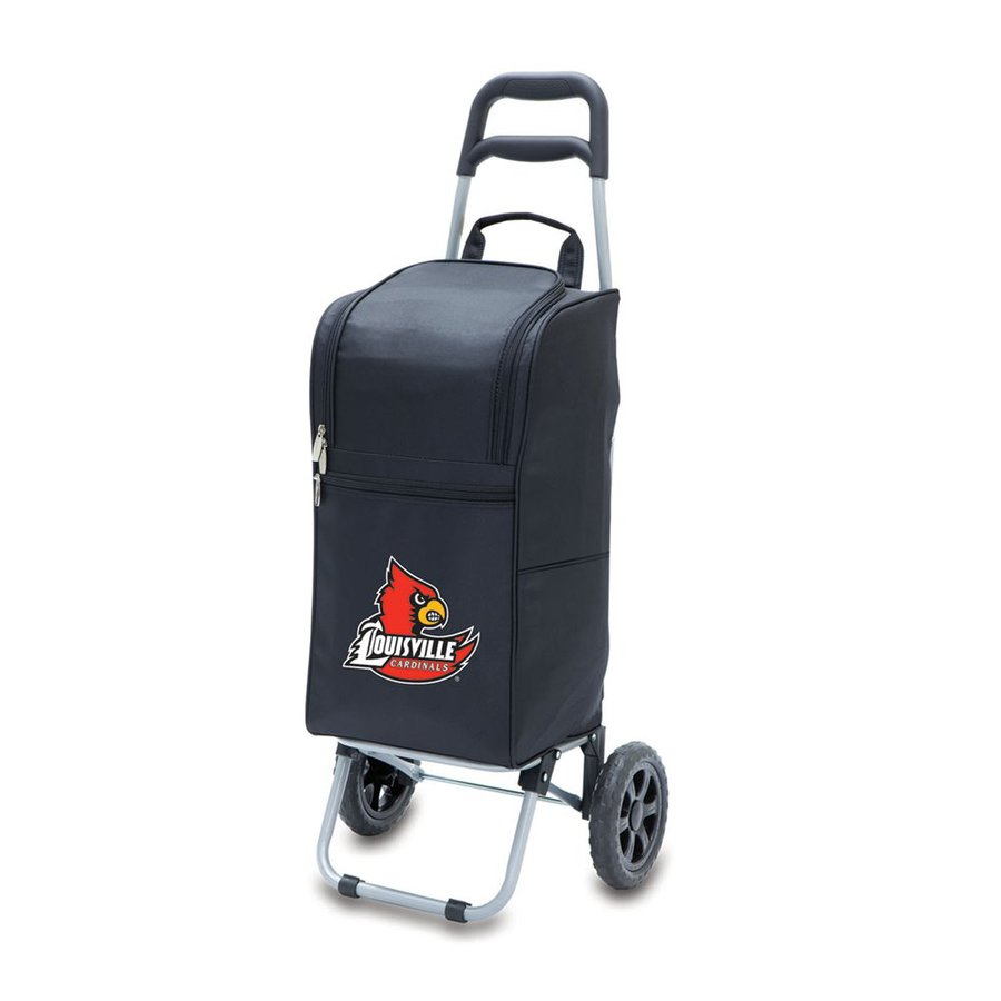 Picnic Time 15-qt Louisville Cardinals Wheeled Polyester Cart Cooler