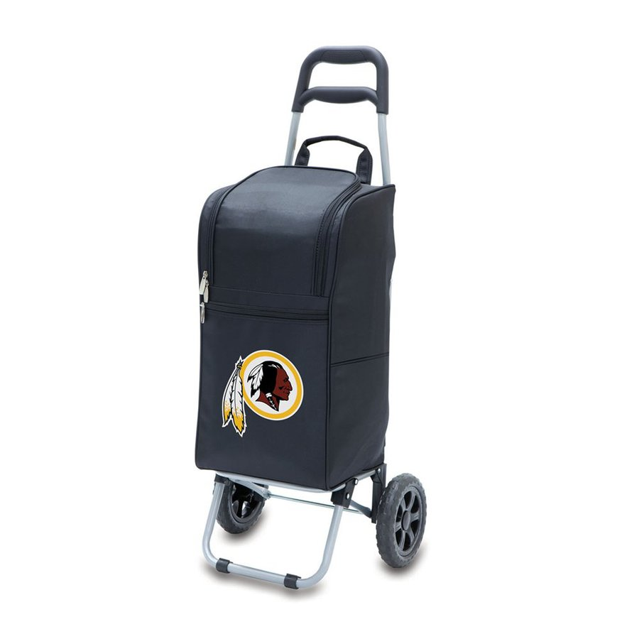Picnic Time 15-Quart Washington Redskins Wheeled Polyester Cart Cooler