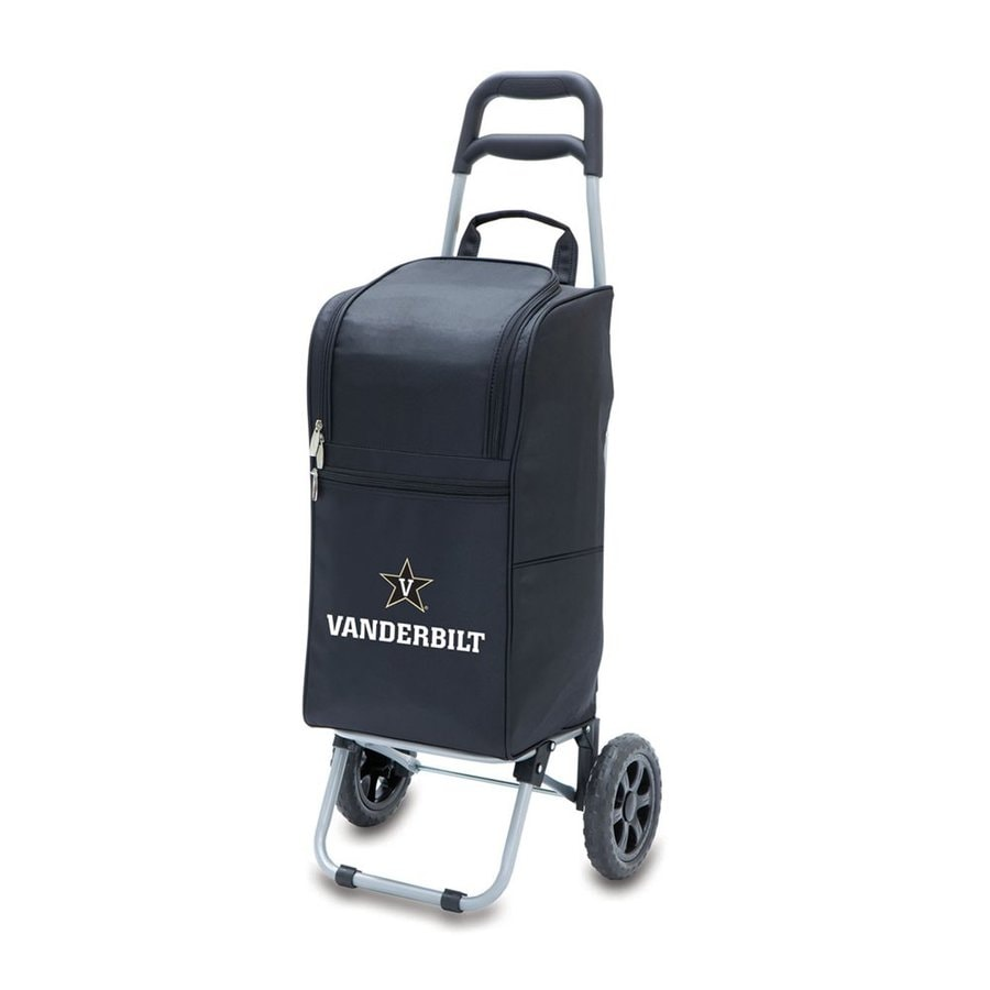 Picnic Time 15-qt Vanderbilt Commodores Wheeled Polyester Cart Cooler