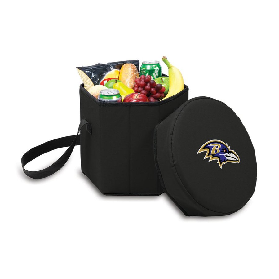 Picnic Time 12-Quart Baltimore Ravens Polyester Personal Cooler