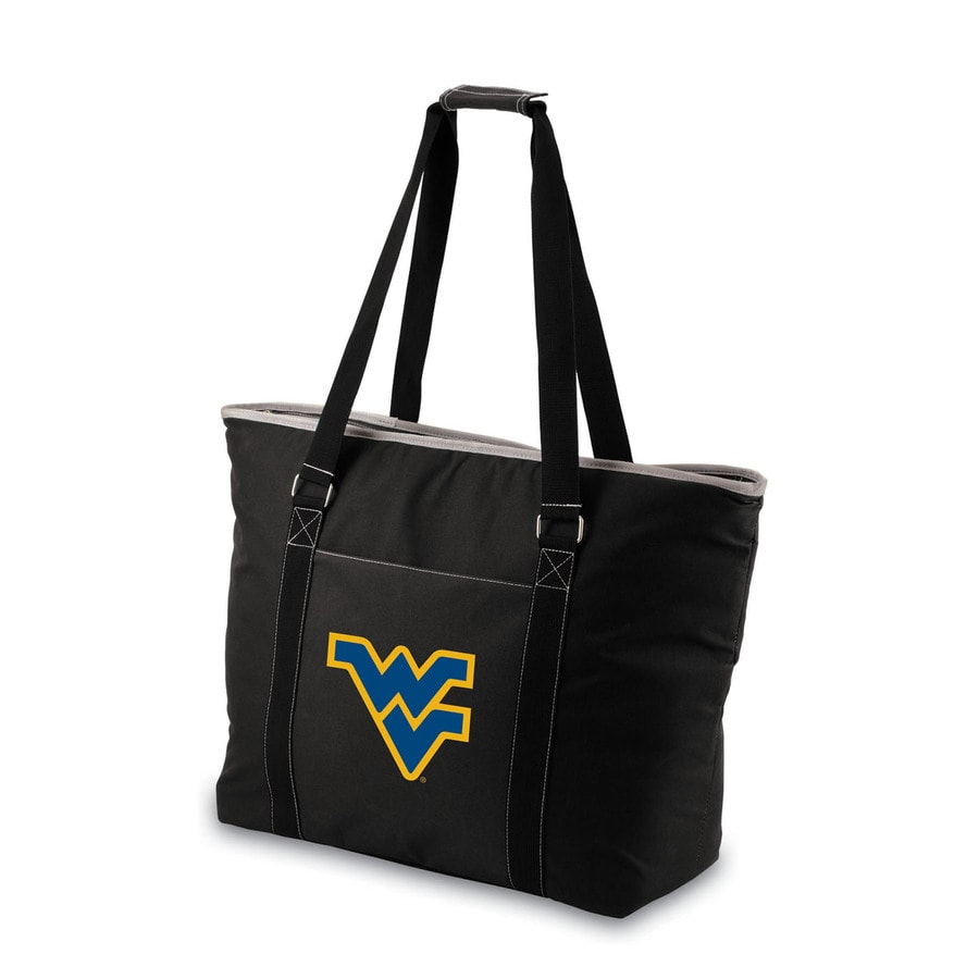 Picnic Time 576-fl oz West Virginia Mountaineers Polyester Bag Cooler