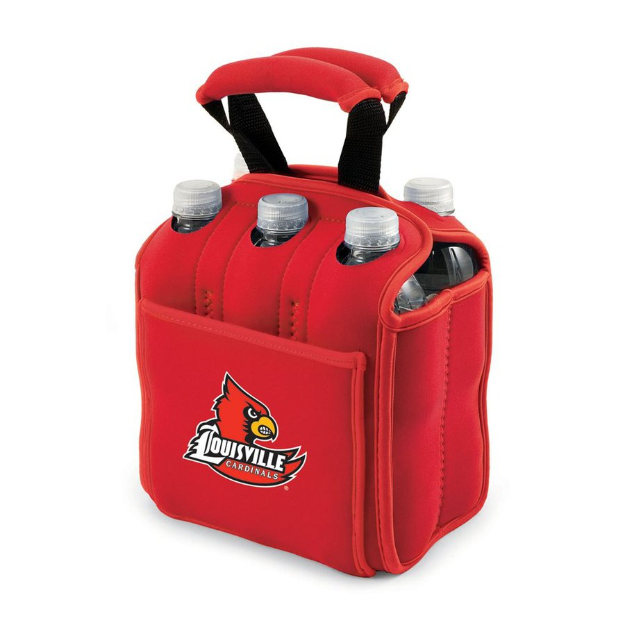 Picnic Time 120-fl oz Louisville Cardinals Neoprene Bag Cooler