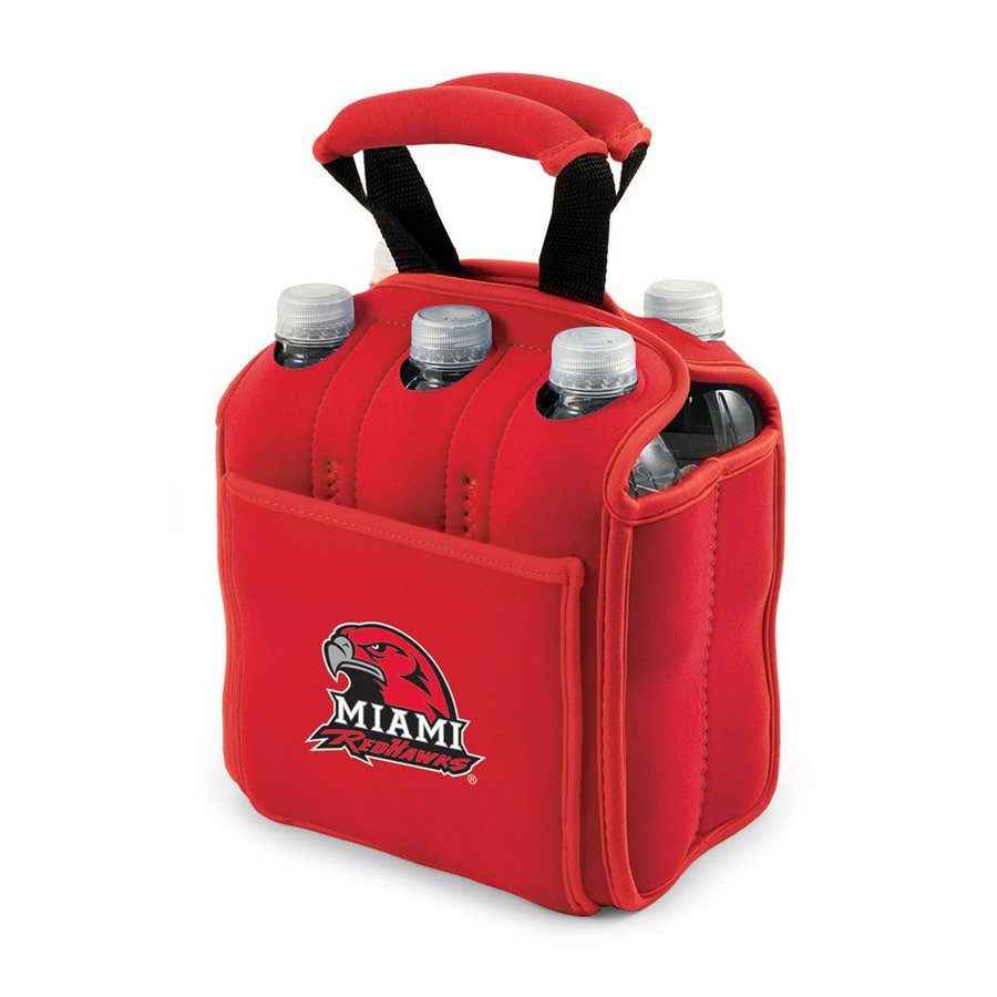 Picnic Time 120-fl oz Miami Redhawks Neoprene Bag Cooler