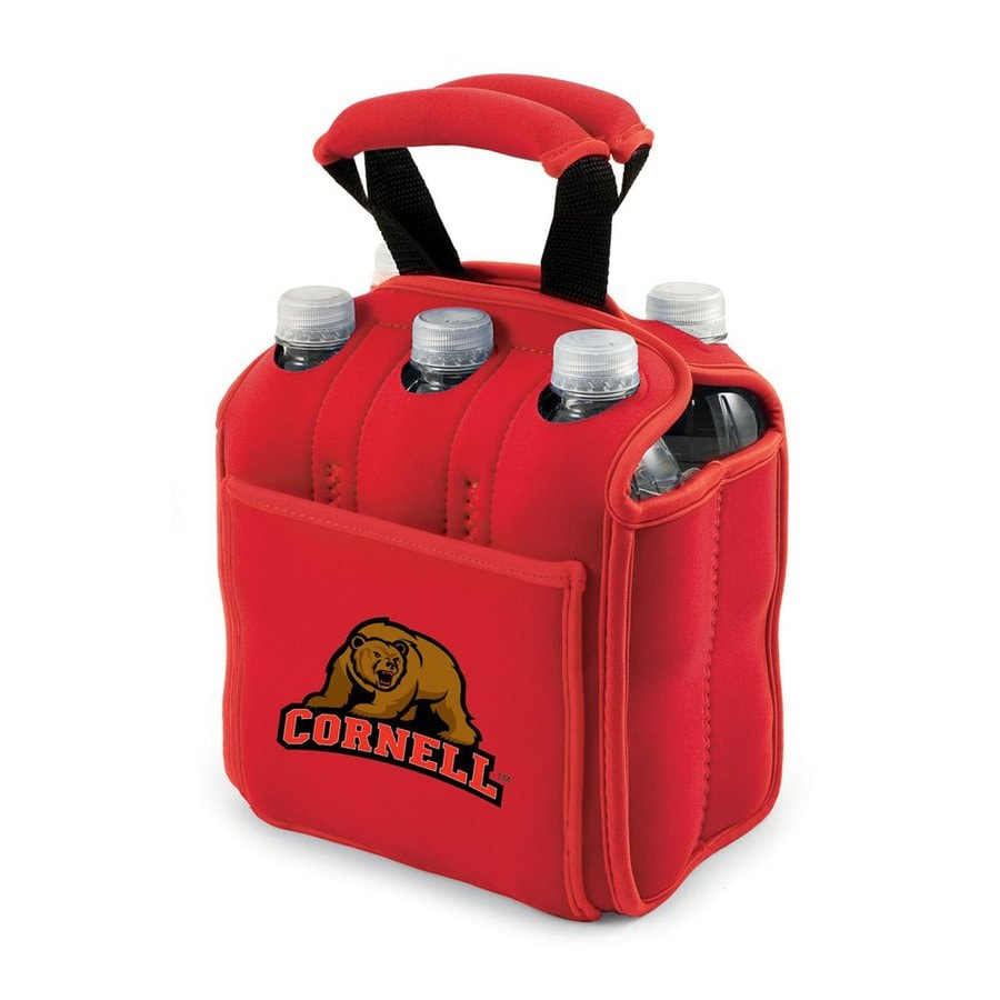 Picnic Time 120-fl oz Cornell Big Red Neoprene Bag Cooler