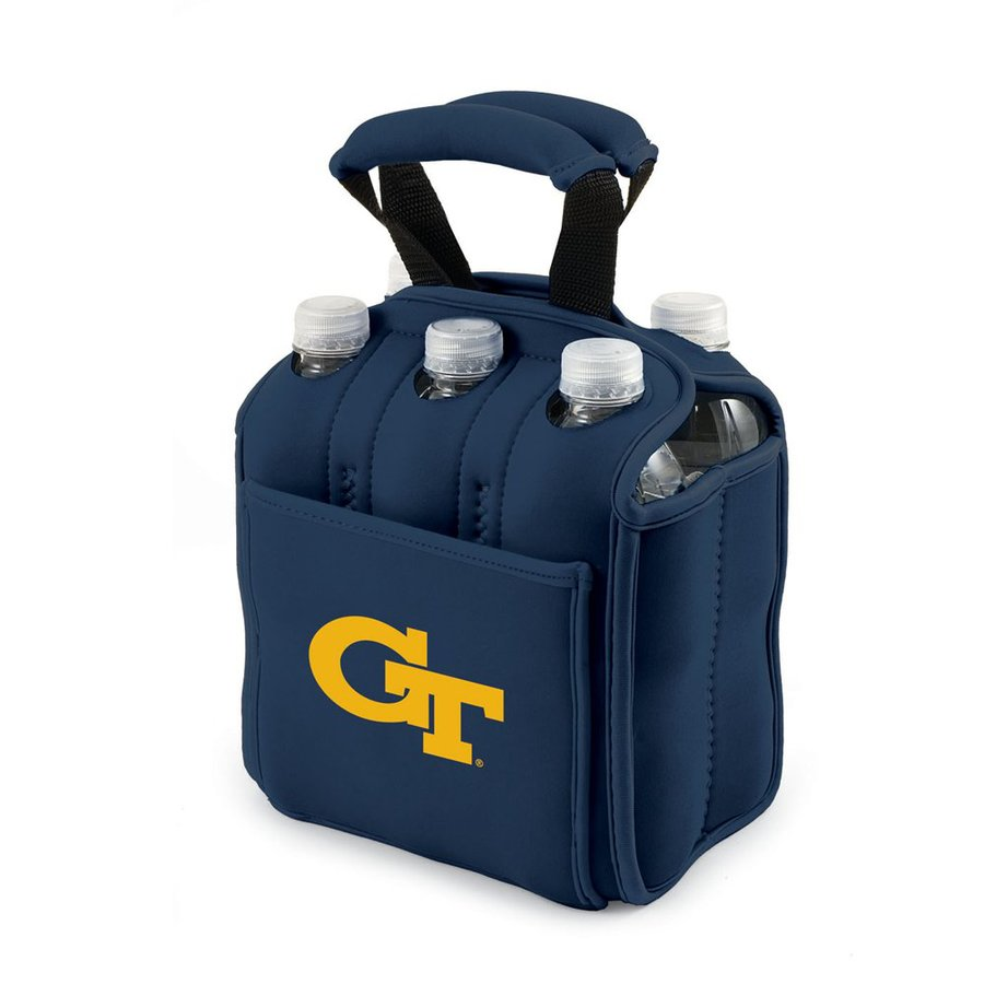 Picnic Time 120-fl oz Georgia Tech Yellow Jackets Neoprene Bag Cooler