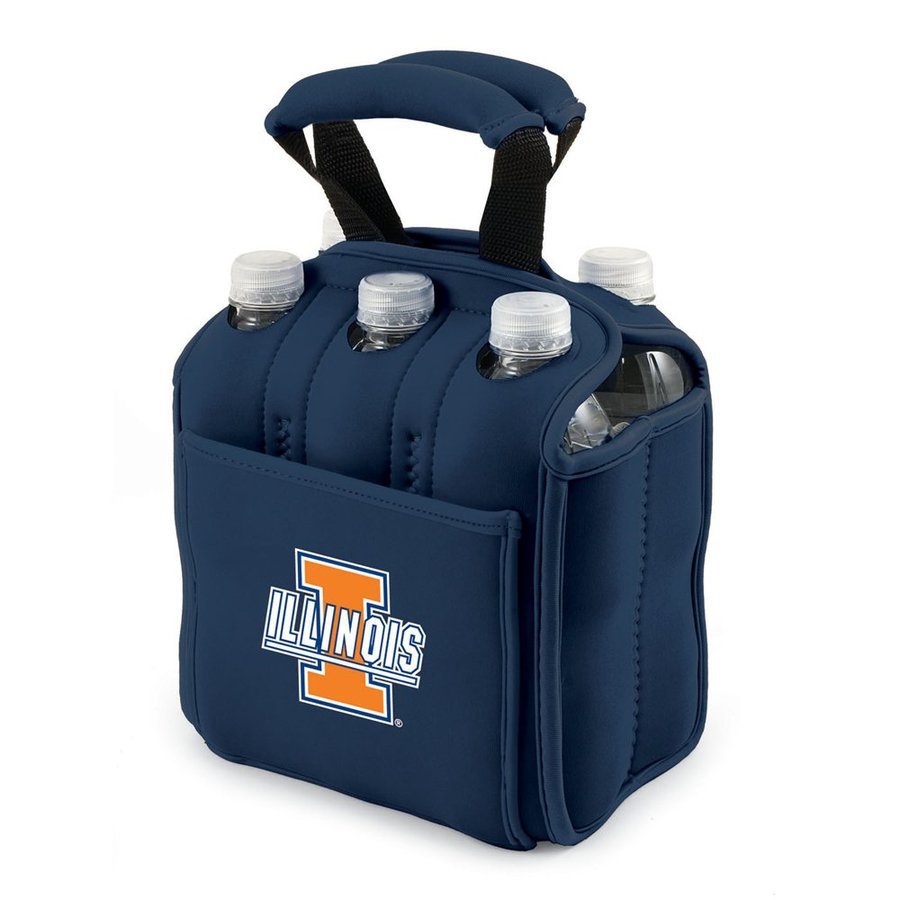 Picnic Time 120-fl oz Illinois Fighting Illini Neoprene Bag Cooler