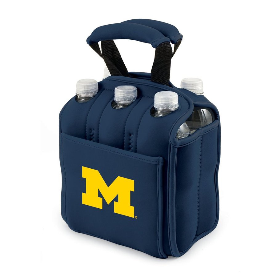 Picnic Time 120-fl oz Michigan Wolverines Neoprene Bag Cooler