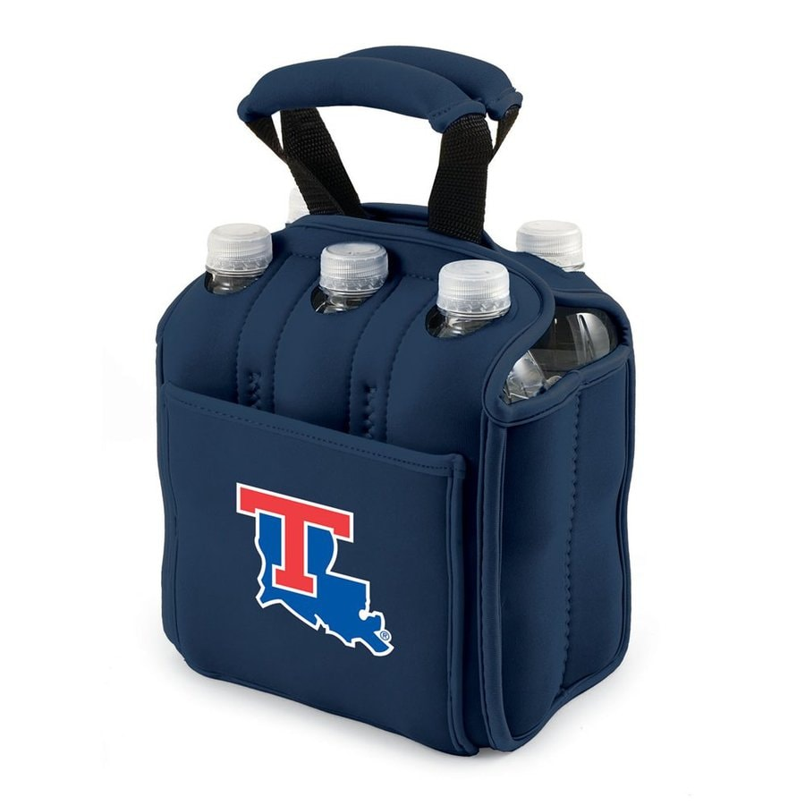 Picnic Time 120-fl oz Louisiana Tech Bulldogs Neoprene Bag Cooler