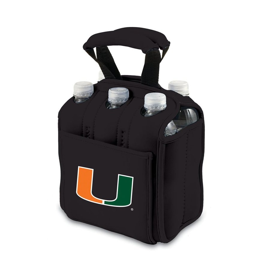 Picnic Time 120-fl oz Miami Hurricanes Neoprene Bag Cooler