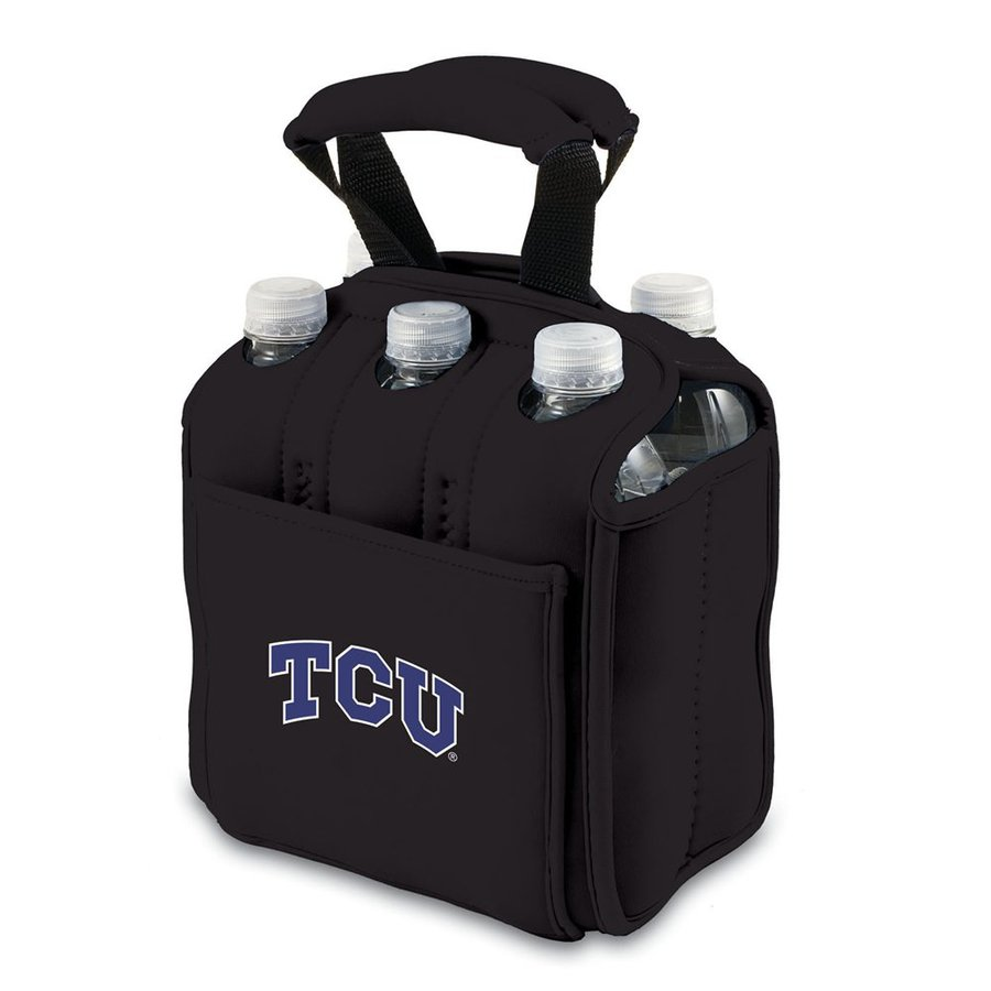Picnic Time 120-fl oz TCU Horned Frogs Neoprene Bag Cooler