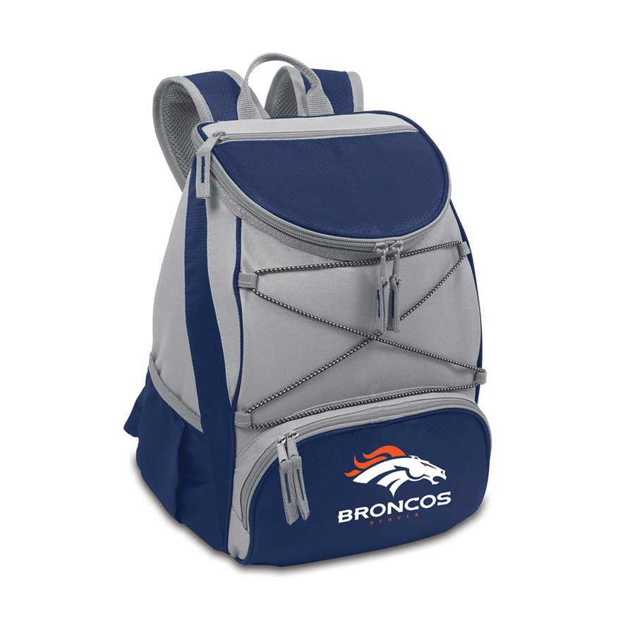Picnic Time 14-qt Denver Broncos Polyester Backpack Cooler