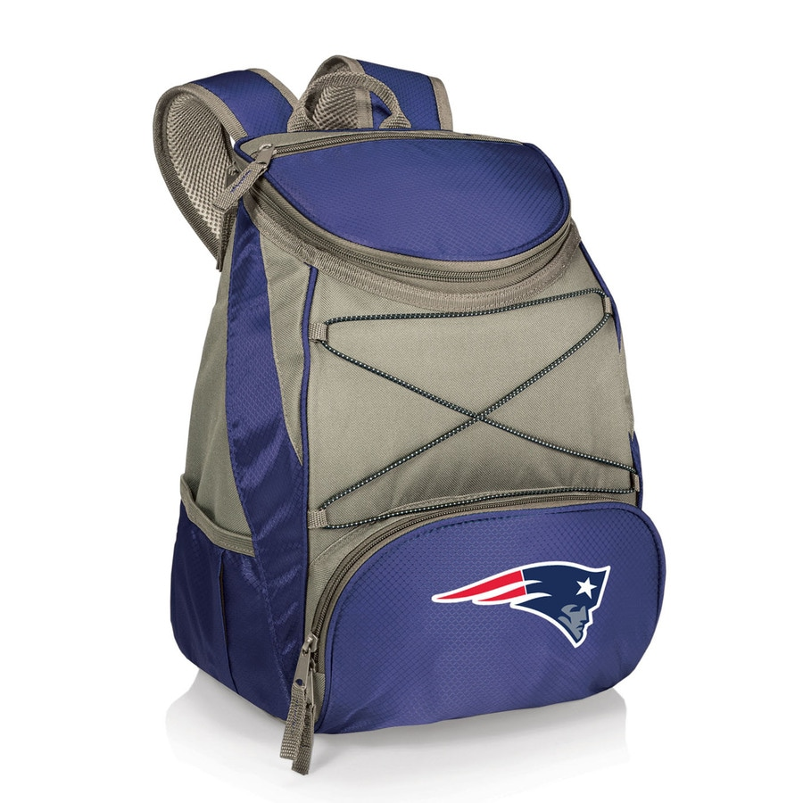 Picnic Time 14-qt New England Patriots Polyester Backpack Cooler