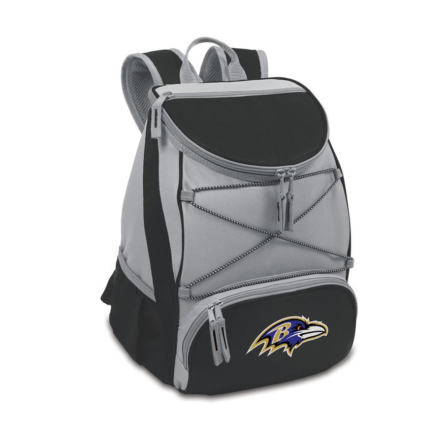 Picnic Time 14-qt Baltimore Ravens Polyester Backpack Cooler