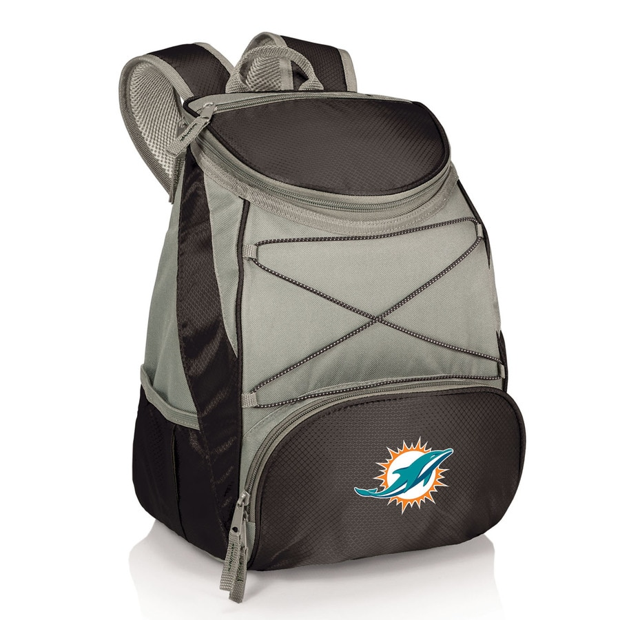 Picnic Time 14-qt Miami Dolphins Polyester Backpack Cooler