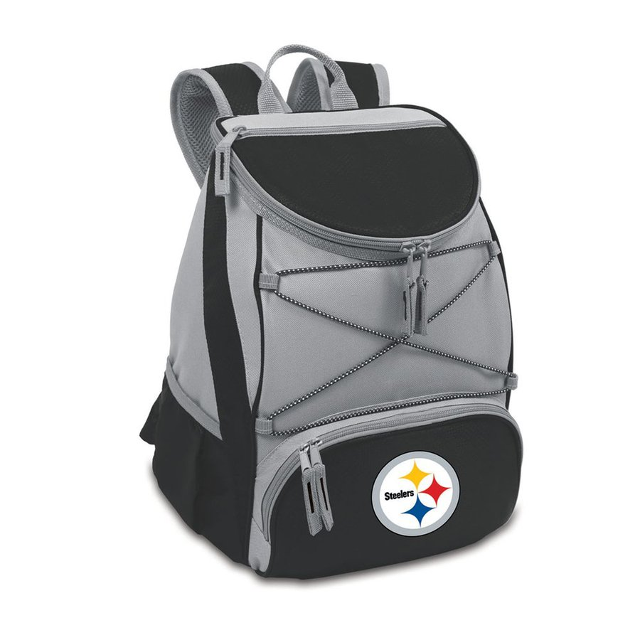 Picnic Time 14-qt Pittsburgh Steelers Polyester Backpack Cooler