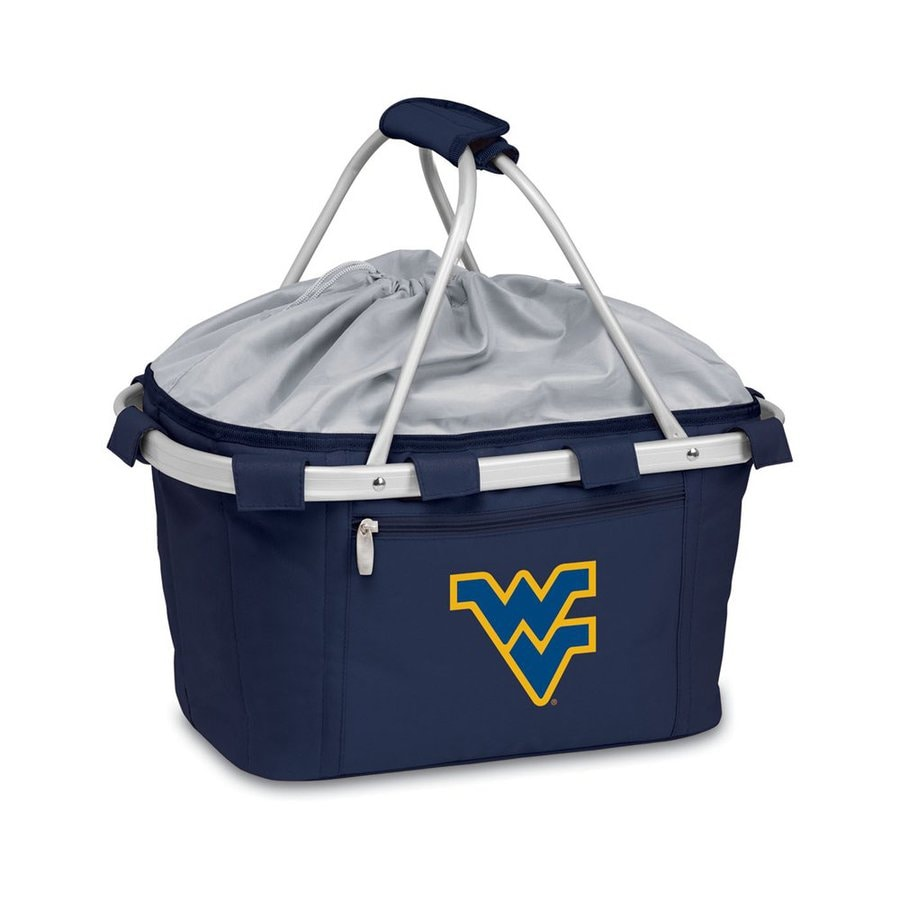 Picnic Time 3-Gallon West Virginia Mountaineers Polyester Personal Cooler