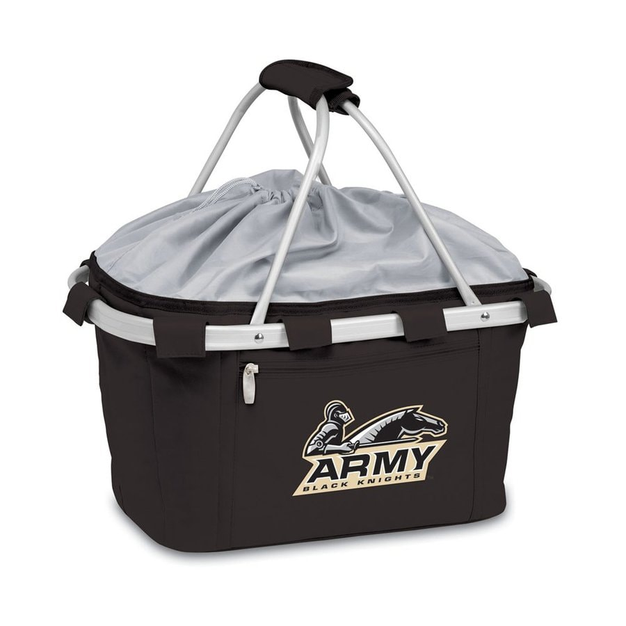 Picnic Time 3-Gallon Army Black Knights Polyester Personal Cooler