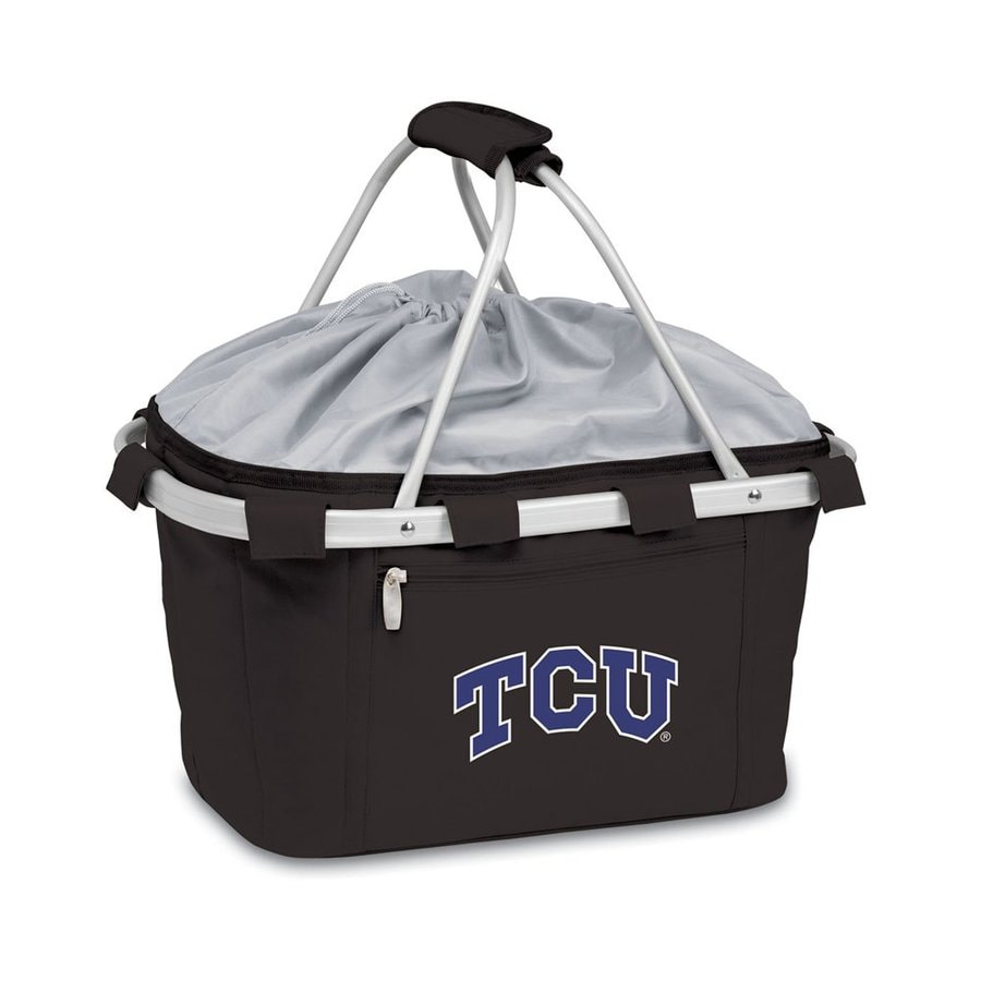 Picnic Time 3-Gallon TCU Horned Frogs Polyester Personal Cooler