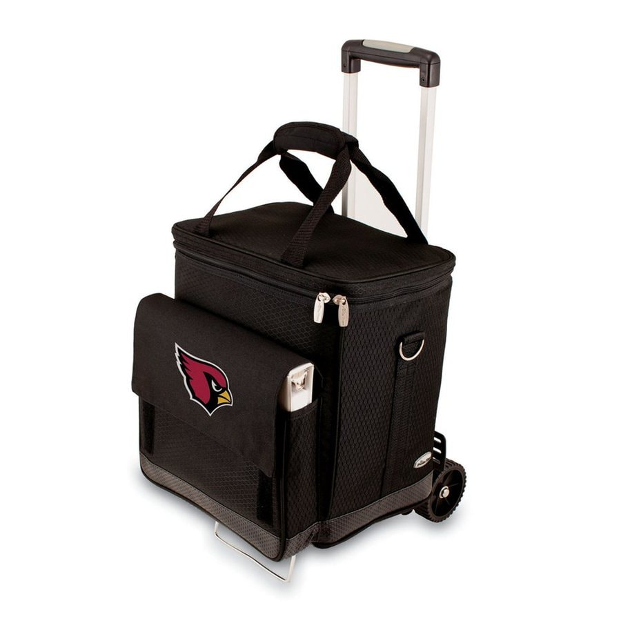Picnic Time Arizona Cardinals Wheeled Polyester Cart Cooler