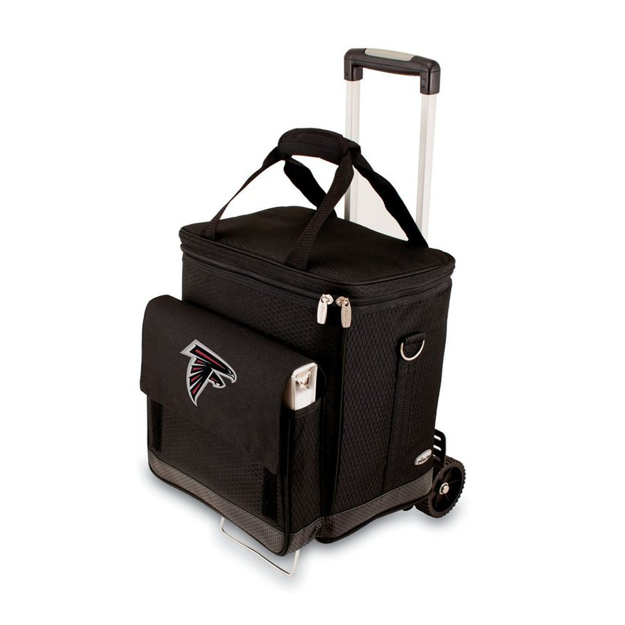 Picnic Time Atlanta Falcons Wheeled Polyester Cart Cooler