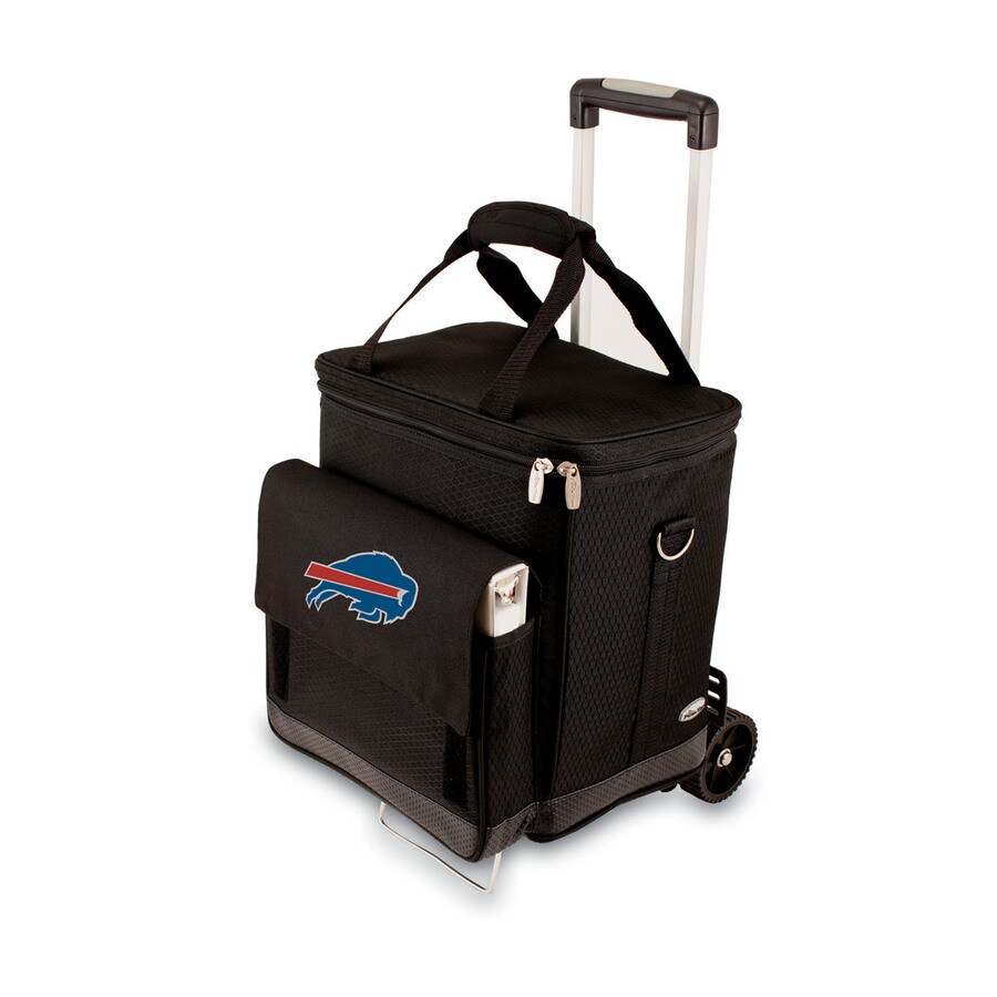 Picnic Time Buffalo Bills Wheeled Polyester Cart Cooler