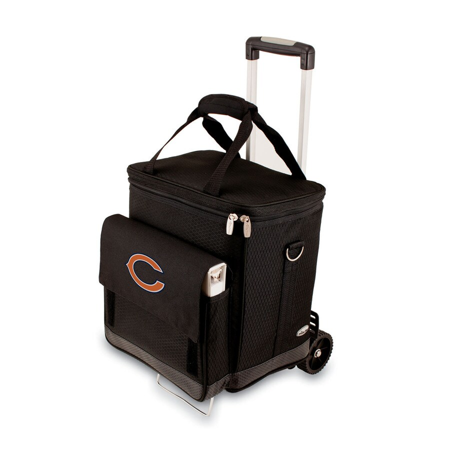 Picnic Time Chicago Bears Wheeled Polyester Cart Cooler