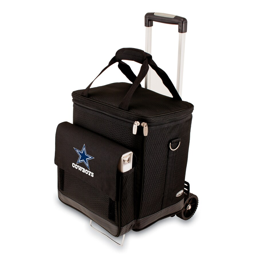 Picnic Time Dallas Cowboys Wheeled Polyester Cart Cooler