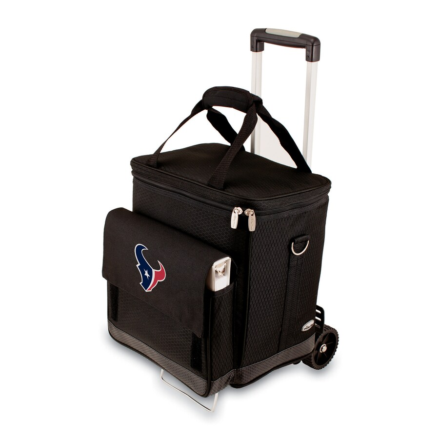 Picnic Time Houston Texans Wheeled Polyester Cart Cooler