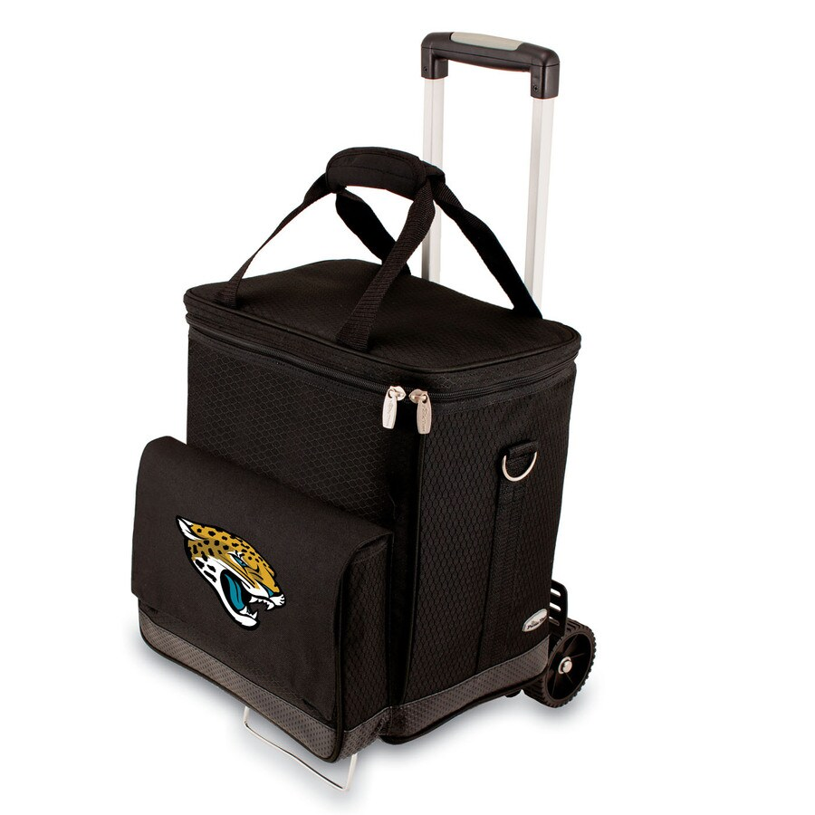 Picnic Time Jacksonville Jaguars Wheeled Polyester Cart Cooler