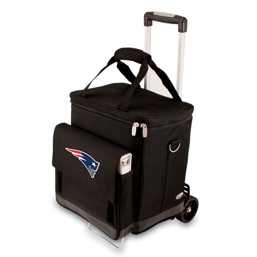 Picnic Time New England Patriots Wheeled Polyester Cart Cooler