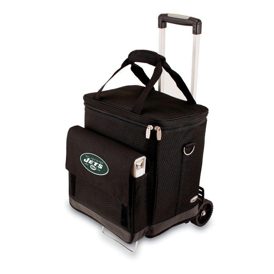Picnic Time New York Jets Wheeled Polyester Cart Cooler