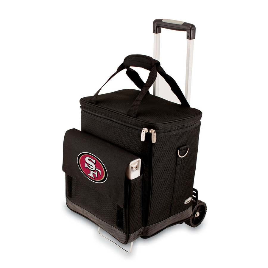 Picnic Time San Francisco 49ers Wheeled Polyester Cart Cooler