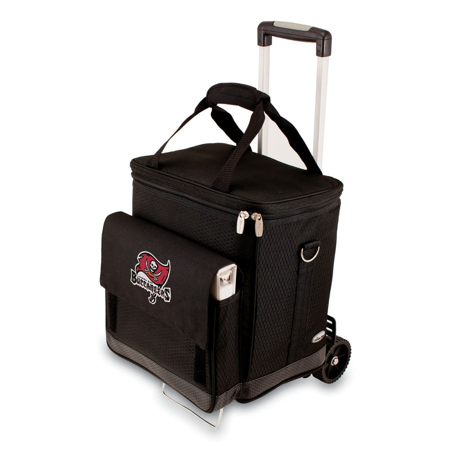 Picnic Time Tampa Bay Buccaneers Wheeled Polyester Cart Cooler