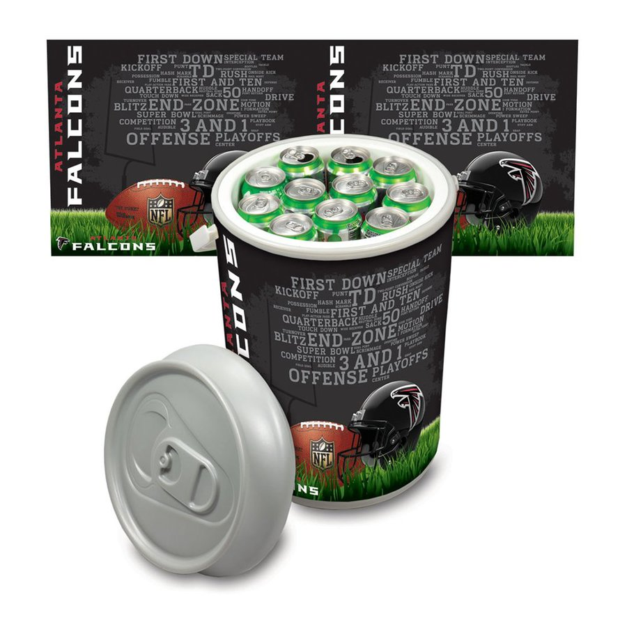 Picnic Time Atlanta Falcons 5-Gallon Plastic Chest Cooler
