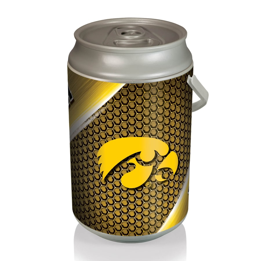 Picnic Time 5-gal Iowa Hawkeyes Plastic Personal Cooler