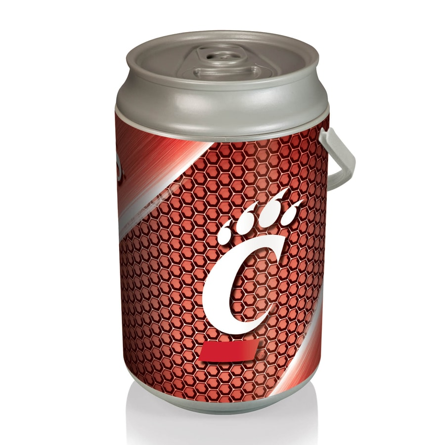 Picnic Time 5-gal Cincinnati Bearcats Plastic Personal Cooler