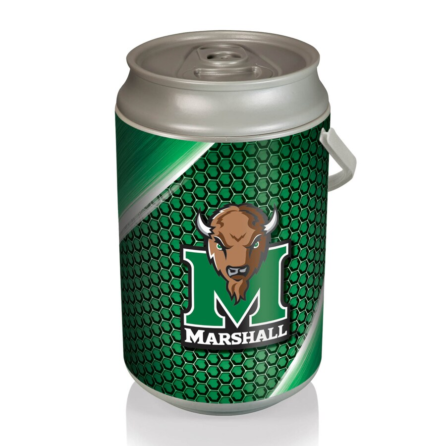 Picnic Time 5-gal Marshall Thundering Herd Plastic Personal Cooler