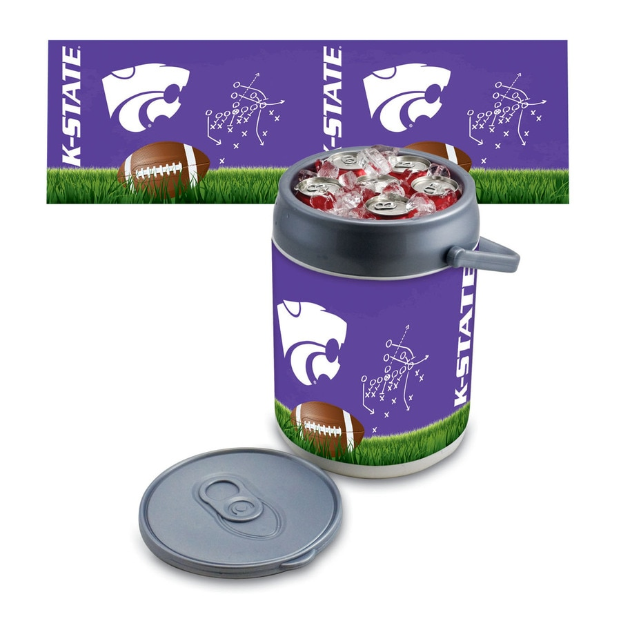 Picnic Time Kansas State Wildcats 9-qt Plastic Chest Cooler