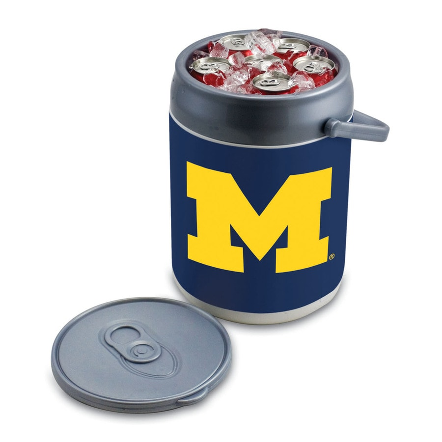 Picnic Time Michigan Wolverines 9-qt Plastic Chest Cooler