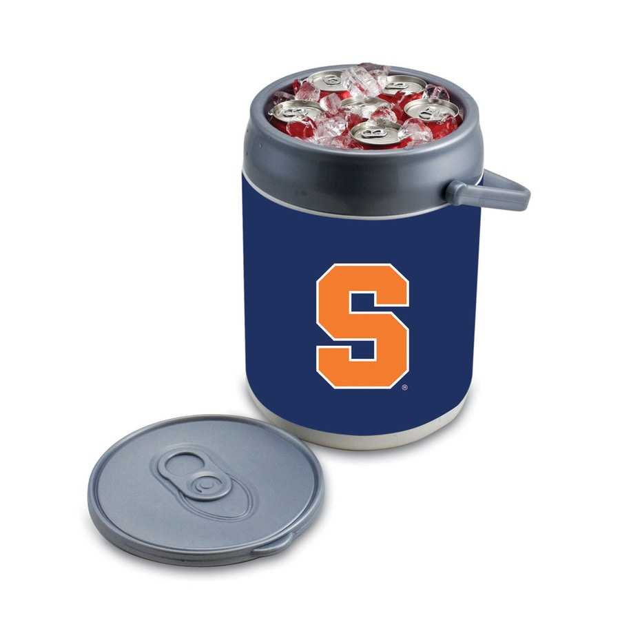 Picnic Time Syracuse Orange 9-qt Plastic Chest Cooler