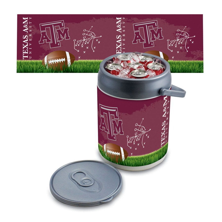 Picnic Time Texas A&M Aggies 9-qt Plastic Chest Cooler