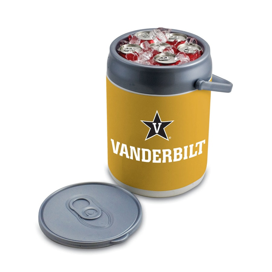 Picnic Time Vanderbilt Commodores 9-qt Plastic Chest Cooler