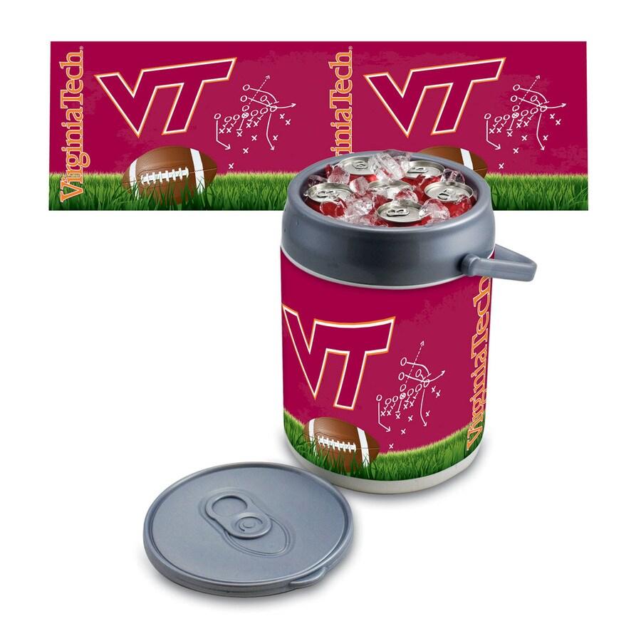 Picnic Time Virginia Tech Hokies 9-qt Plastic Chest Cooler