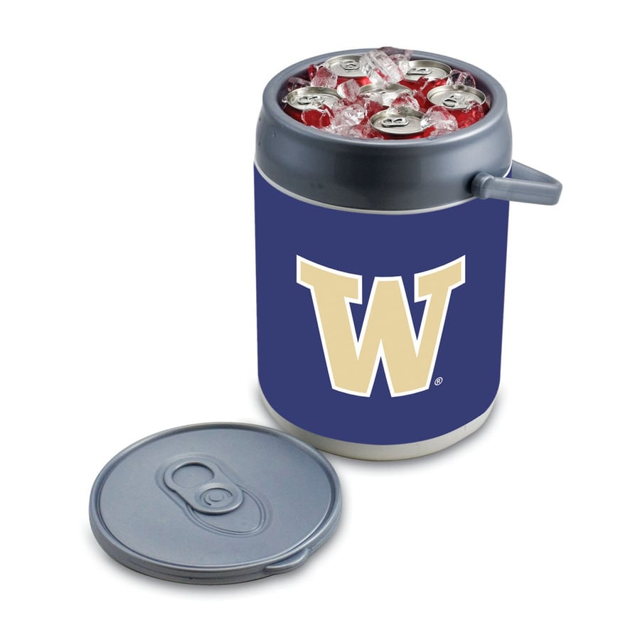 Picnic Time Washington Huskies 9-qt Plastic Chest Cooler