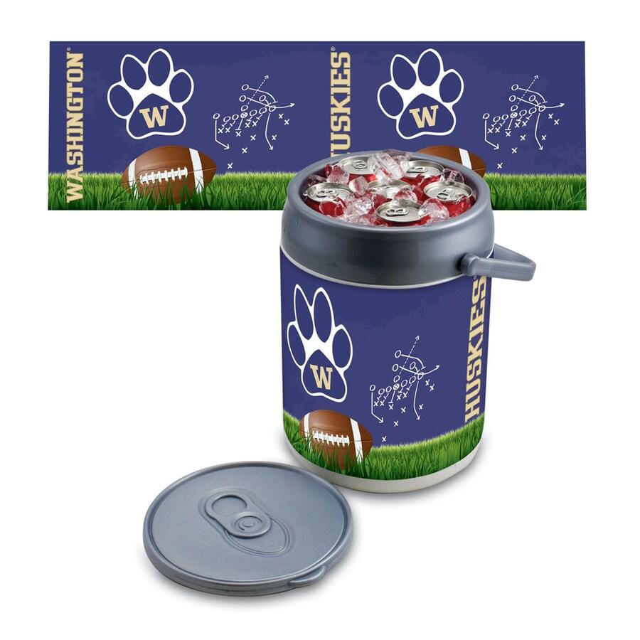Picnic Time Washington Huskies 9-qt Plastic Chest Cooler