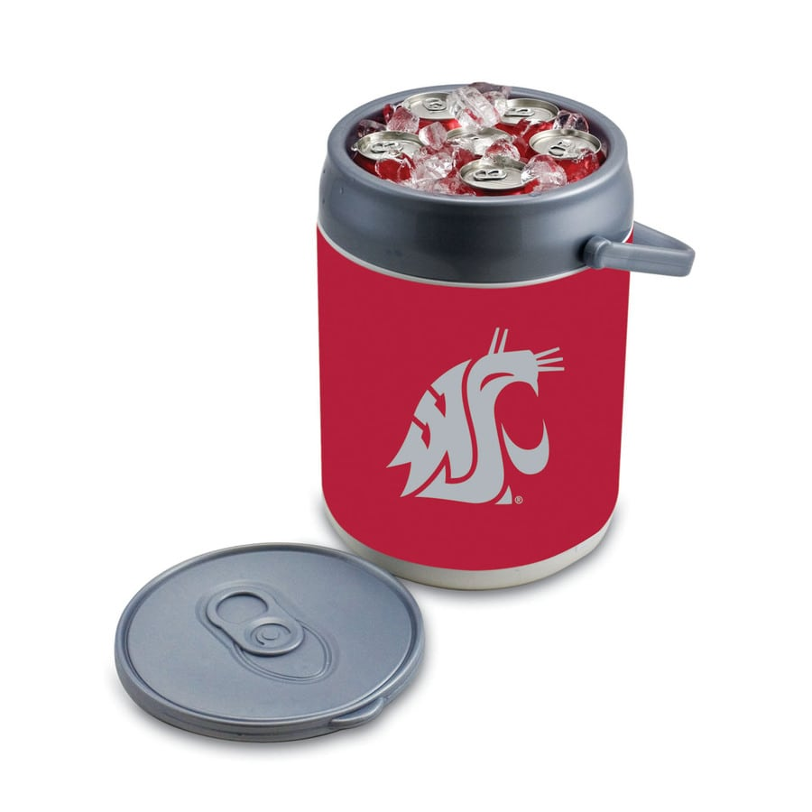 Picnic Time Washington State Cougars 9-qt Plastic Chest Cooler